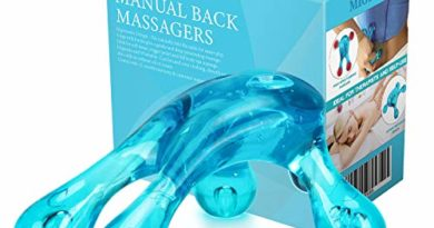Migleo Hand Held Massage Tool Easy Palm Fit with Massage Knobs for Gentle Pressure Point Massage