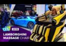 Take it easy at CES 2019 in Lamborghini's luxury massage chair