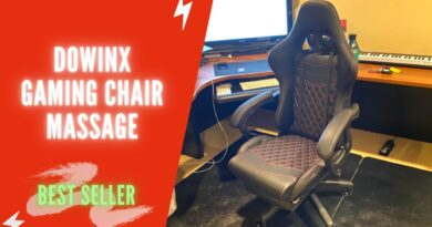 Dowinx Gaming Chair Office Chair PC Chair with Massage Lumbar Support Review 2021 | Dowinx Massage