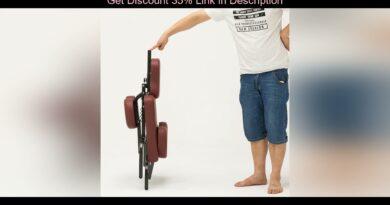 Review Salon chair Folding Adjustable Tattoo Scraping Chair folding massage chair portable tattoo c