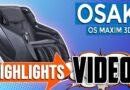 Osaki OS Maxim 3D LE Massage Chair