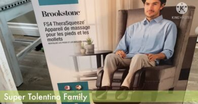 Brookstone FS4 TheraSqueeze Massage Unboxing and Review