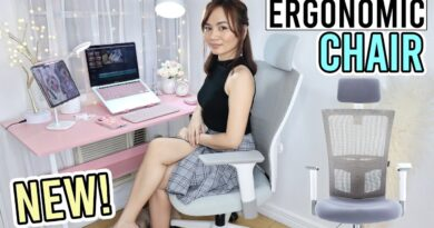 THE BEST OFFICE CHAIR from KOREA! | Home Setup Ergonomic Chair Review