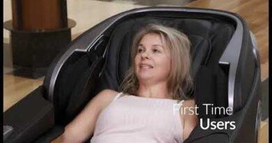 TEBO Massage Chair w/ Free Neck Massager