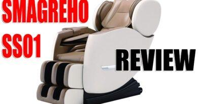 SMAGREHO SS01 Zero Gravity Shiatsu Massage Chair Review 2021