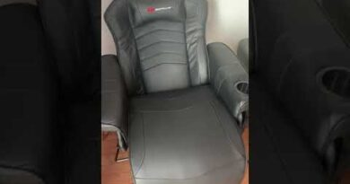 Costway Go Plus Ergonomic High Back Massaging Game Chair REVIEW