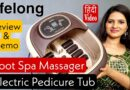 Lifelong electric foot spa massager Review | foot massager machine | best foot massager 2021