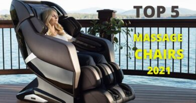 Top 5: Best Massage Chairs of 2021   Full Body, Zero Gravity, Massage Recliner Chair relaxation