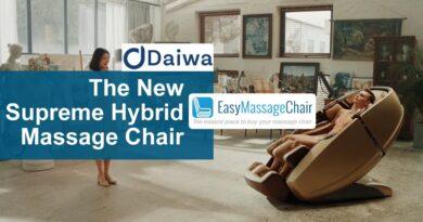Daiwa Supreme Hybrid Massage Chair