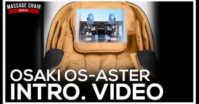 Osaki OS Aster Massage Chair Features